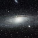 M31 mal cadrée,                                nzv