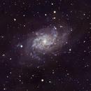 M33 - The Triangulum Galaxy,                                Eshan Toorabally