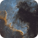 NGC 7000 - Cygnus Wall SHO,                                Mike Hislope