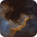 Cygnus Wall - L-Enhance (false colour),                                Lee B