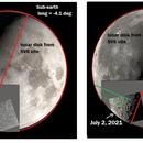 A Serendipitous Catch of Lunar Libration,                                Steve Lantz