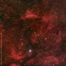 IC1318 - The Gamma Cygni Nebula,                    orangemaze
