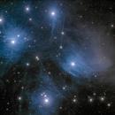 M45, Plejaden mit Merope-Nebel,                                Gerhard Aschenbrenner