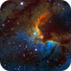 Cave Nebula HA + NII + OIII + SII,                                Jim Matzger