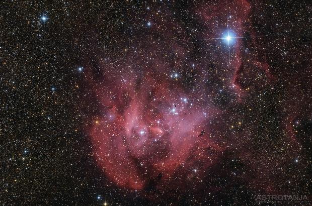 IC2944, Running Chicken Nebula,                                AstroTanja