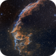 Eastern Veil Nebula - Bicolor Image - Hubble Style - Two-panel Mosaic,                                Eric Coles (coles44)