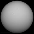 Sun in whitelight  1st January  2013,                                steveward53