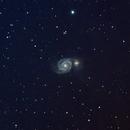 M51 - The Whirlpool Galaxy,                                jimwgram