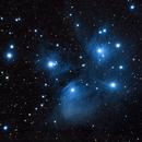 M 45 Pleiades Star Cluster,                                Nicolas Escurat