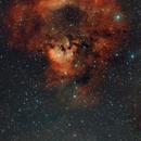NGC7822 and Ced 214,                                Wilson Yam