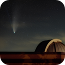 NEOWISE over the Lake Afton Observatory (25 July 2020),                                Brent Newton