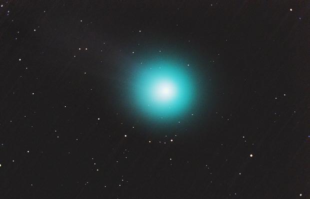 cometa C/2014 Q2 Lovejoy - 7 gennaio 2015,                                giusnico