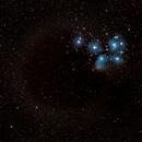 Conjunction of M45 and Mars - 3/4/2021,                                Steven E Labkoff