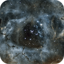 NGC 2244 Rosette up close and personal,                                Johnyb2