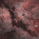 Gamma Cygni (Sadr) Region (IC1318),                                JMDean