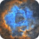 The Rosette Nebula - with SkyWatcher PDS 150/750 and SV503,                                pmneo
