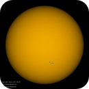 The surface of the Sun with sunspot 2765,                                Mohammad Ranjbaran