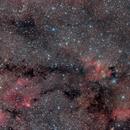 Dark Nebula between Cave and Bubble,                                Yuichi Kawamoto