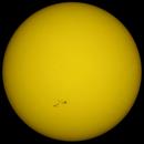 Coloured Sun 22nd August 2015 , 09:00 BST.,                                steveward53