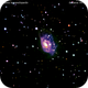 ngc1961 galassia irregolare nel camelopardo                                 distanza 185 milioni  A.L.,                                Carlo Colombo