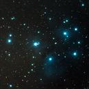 M45 - Merope and Maia Nebula,                                Harold Freckhaus