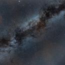 voie lactée dans le cygne,                                laup1234