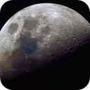 April Waxing gibbous in RGB,                                Christopher Gomez