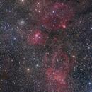 SH2-157, NGC7635 and M52,                                Ken-ichiro Tanaka