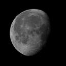Waning Moon 82.7% - A celebration of the 50th anniversary of Apollo 11,                                Van H. McComas