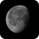 Waning Moon 82.7% - A celebration of the 50th anniversary of Apollo 11,                                Van H. McComas
