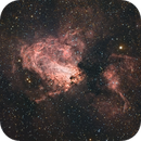 M17 - Omega Nebula in HaRGB,                                Orestis Pavlou