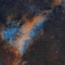 Space Shuttle Nebula in the Hubble Palette,                                  Chuck's Astrophot...