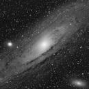 Andromeda Galaxy - M31,                                Alan Santana