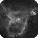 IC1805 Wide Field In H-alpha,                                mikefulb
