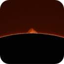 Solar Prominence, south west limb - 8 June 2021,                                hughsie