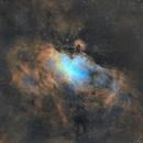 M16/Eagle Nebula in SHO,                                John Kroon