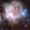 M42 Great Orion Nebula,                                Greg Bock