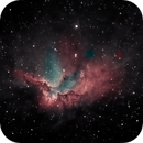 Wizard nebula,                                Mike