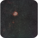 NGC2244 Rosette and surroundings, 20180308,                                Geert Vandenbulcke