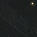Starlink Satellites pass Arcturus,                                BrettWaller