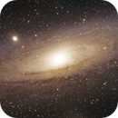M31 in Andromeda,                                Nurinniska