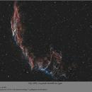 Gros plan sur NGC 6992,                                papilain