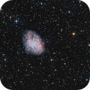 M1 - The Crab Nebula,                                Brian Peterson