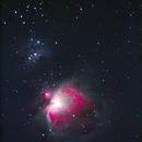 Orion Nebula and Running Man Nebula,                                Clark Stewart