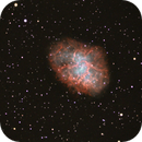M1 Crab Nebula. Image composite from my two shots at f/6.3 and f/10. C9.25 on unguided CG-5.,                                Juan Pablo (Obser...