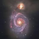 M51 Whirlpool Galaxy,                                Muhammad Ali