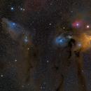 Nebulae in Scorpion,                                Alessandro Cipolat Bares
