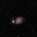 M51 - Whirlpool Galaxy,                                Ron Abey