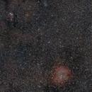 Cone Nebula - Christmas Tree Cluster - Rosette Nebula - Widefield,                                Mario Gromke