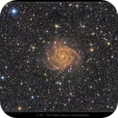 IC 342 (Hidden Galaxy in Camelopardalis),                                Mike Oates